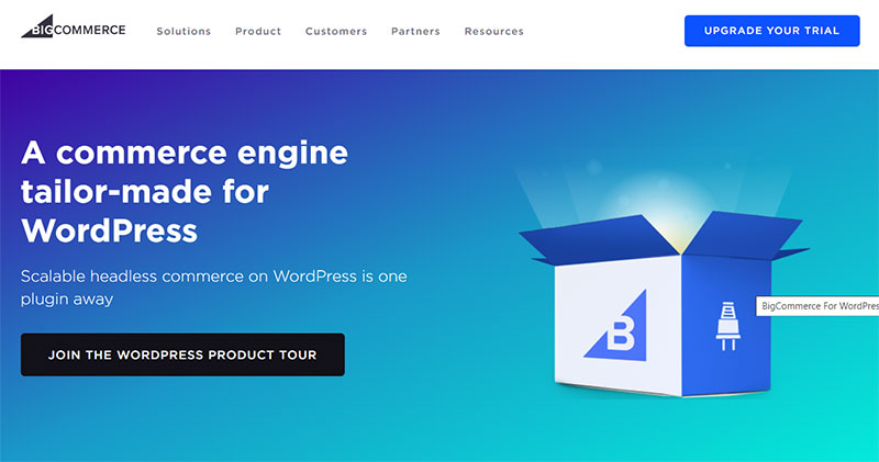 BigCommerce WordPress integration